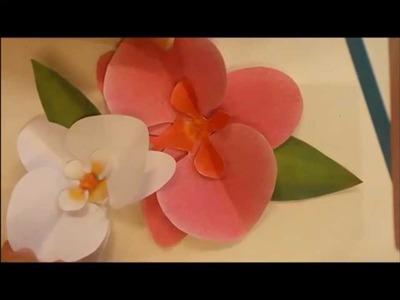 DIY: Orquidea de papel