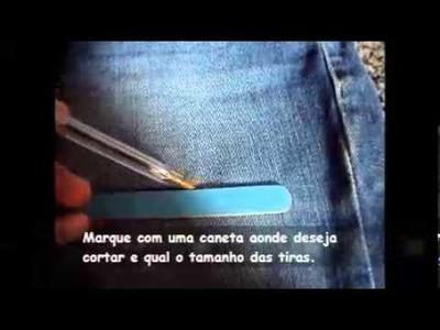 DIY: Short rasgado