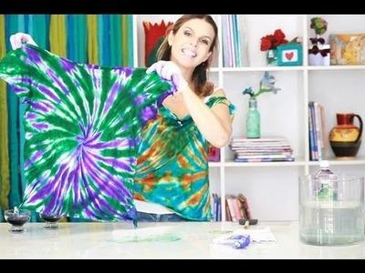 Mais Você - Denise Meneghello ensina um Tie Dye simples e rápido