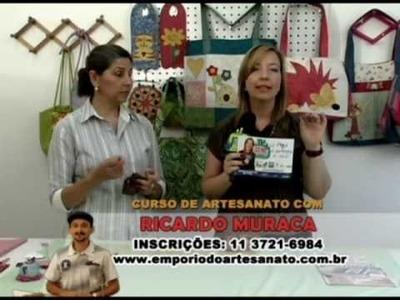 PASSO A PASSO NECESSAIRE EM PATCHWORK COM A ARTESÃ  MARÍLIA SALOMÃO