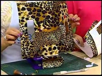 Programa Arte Brasil - 18.02.2014 - Carteira em Feltro Adesivado - Laís Mei
