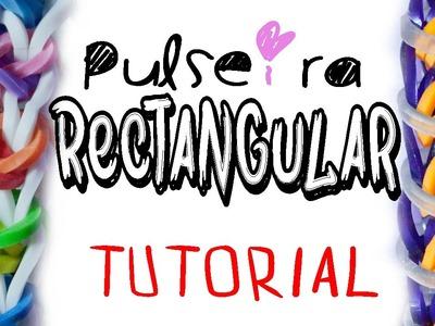 Pulseira Rectangular - DIY LOOM - Tutorial - PT.PT PT.BR