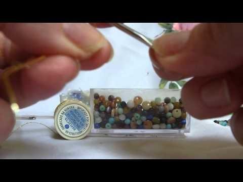Colar em crochet - parte 1