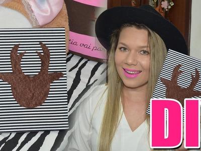 DIY Customização de Caderno - Alce Fashion | Faça Você Mesma VEDA #6