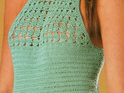 Patrón para tejer vestido a crochet