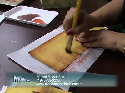 Mulher.com 13.11.2013 Marisa Magalhães - Decoupage pintura Parte 1.2