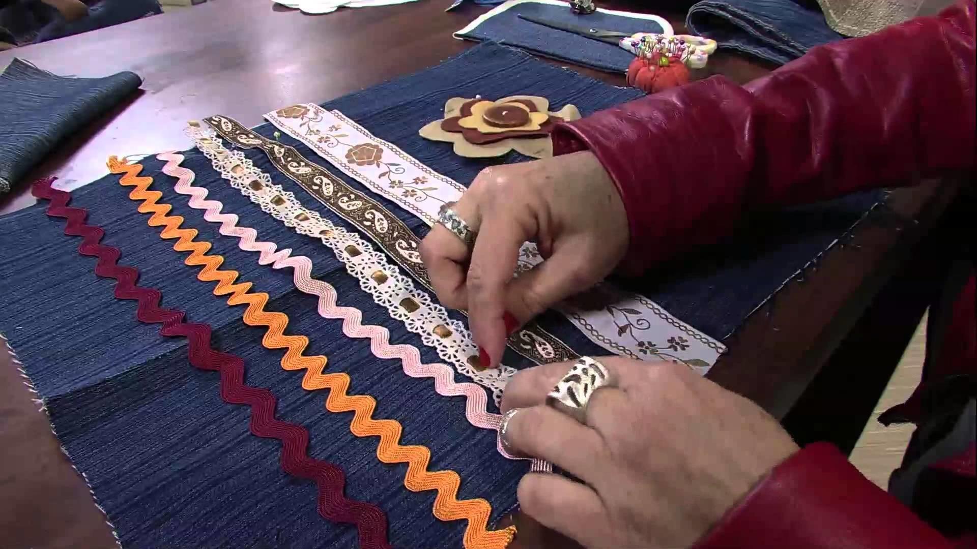 Mulher.com 05.06.2013 Mara Gimenes - Bolsa customizada Parte 1.2