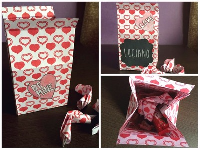 """DIY Dia dos Namorados: Caixinha de """"leite"""" + biscoitos do amor!"""