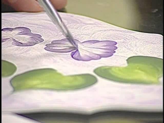 Cachepot em Violeta - Hora de Arte - Arte Fácil