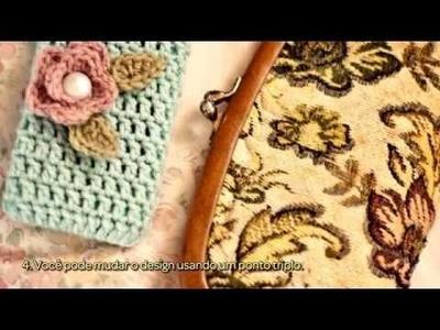 Crie Uma Charmosa Capinha De Celular de Crochê - Faça Você Mesmo Artesanato - Guidecentral