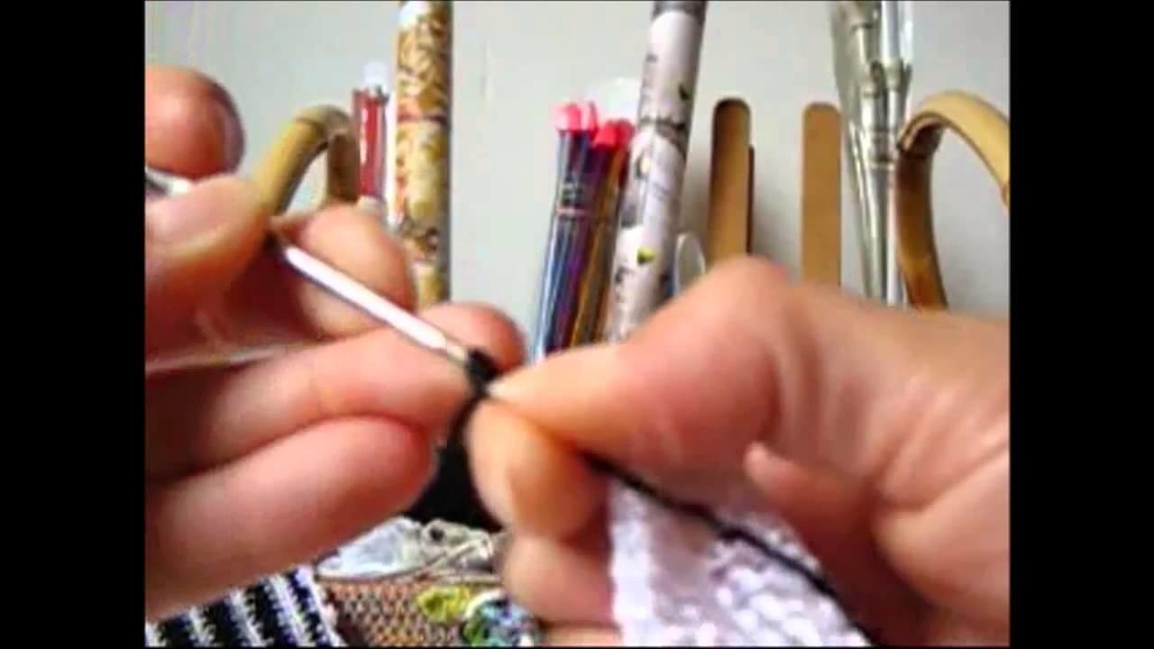 Crochê para Canhotas - Blusa Reveillon - Parte 01.04