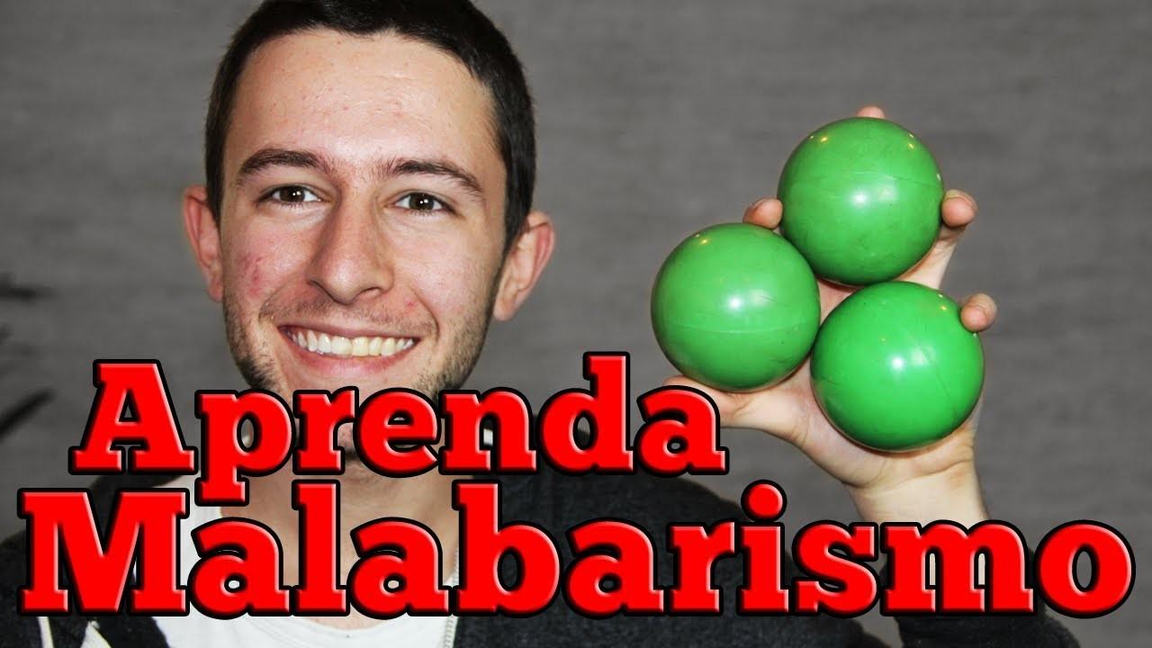 Malabarismo com 3 bolinhas - aprenda agora! - How to juggle 3 balls