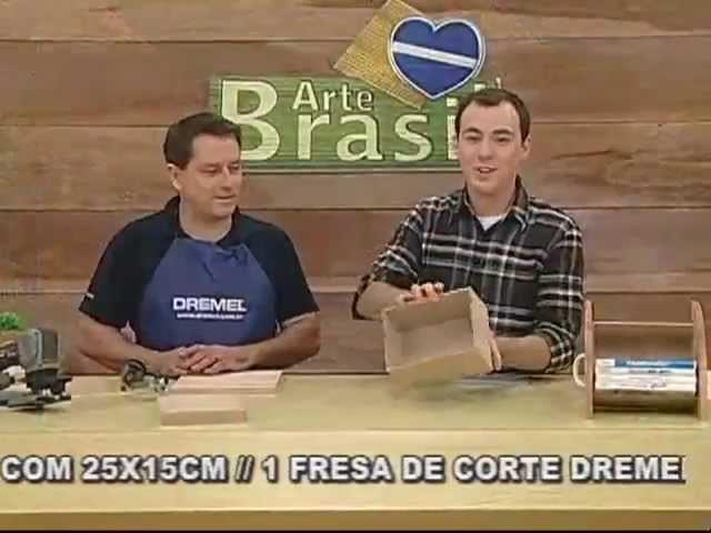 ARTE BRASIL - MARCELO BIONI - PORTA CDs E DVDs (20.09.2011)