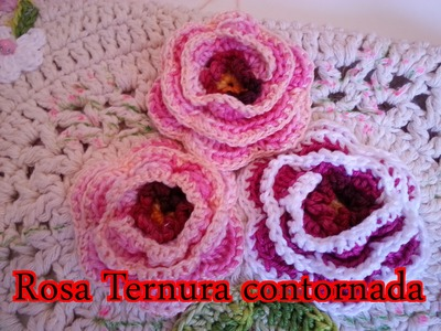 ArtSil   Rosa ternura contornada