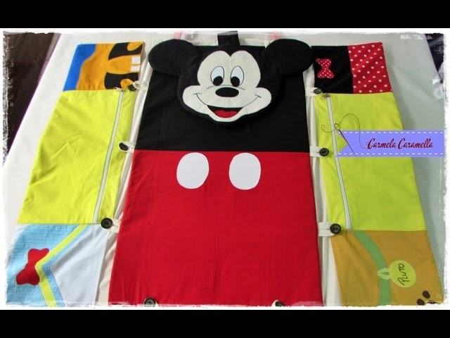 Aula 2 bolsa trocador Mickey