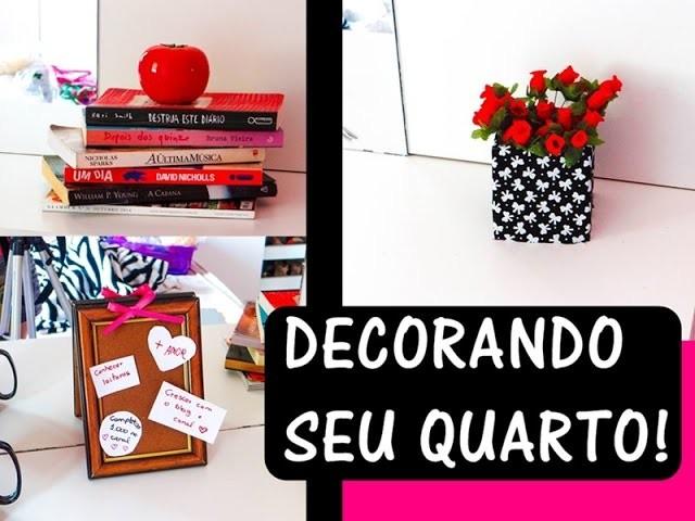 Como decorar seu quarto gastando pouco Por: Laizinha Fonseca