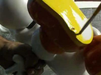 Como resinar papercraft - parte 25 - overdosegamer.blogspot.com.br