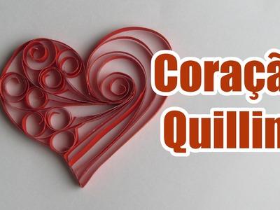 Coração de Quilling