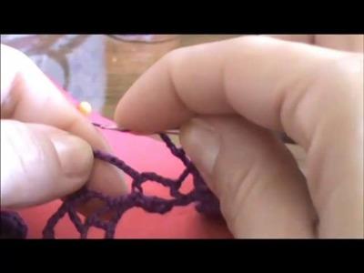 Crochê Irlandês - Barrado (Iniciantes) - Parte 04.07