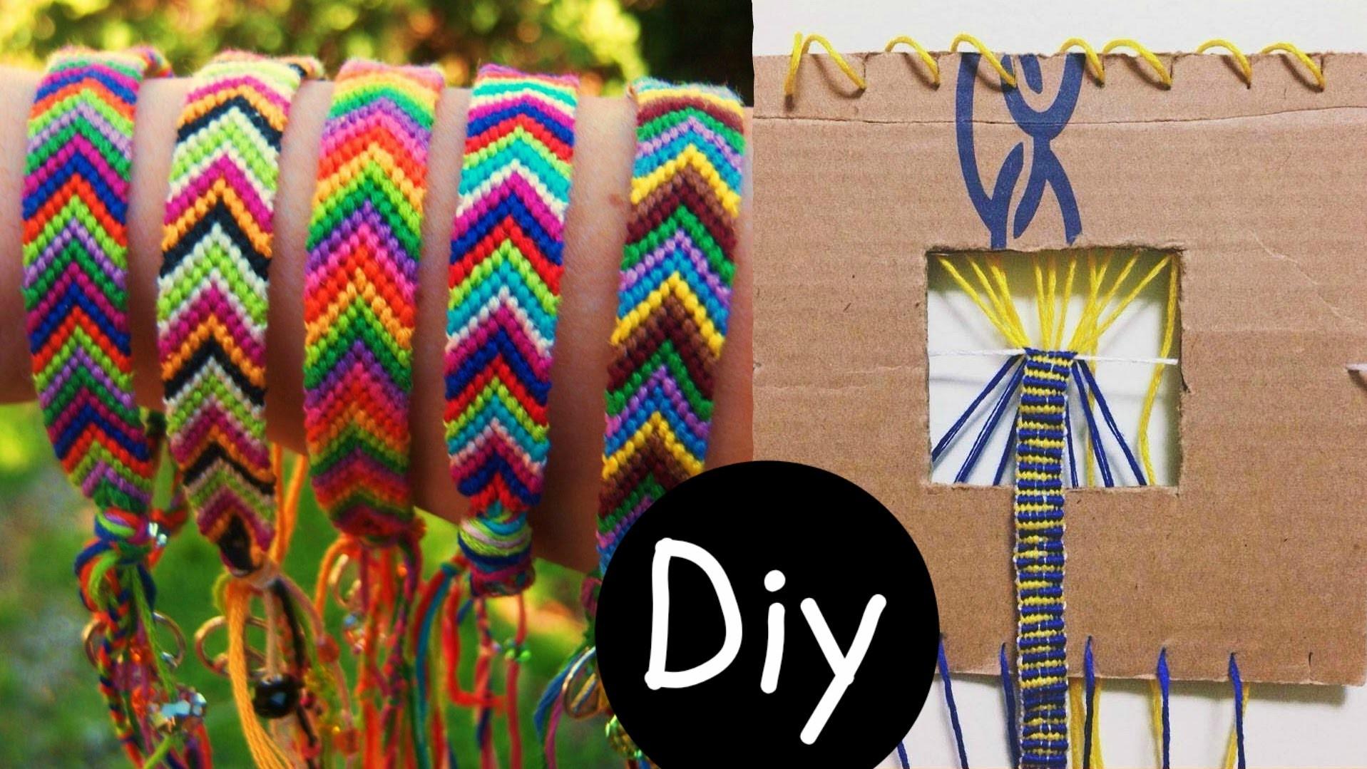 DIY #5: Fazedor de pulseira Friendship Bracelets (tear pulseira hippie)   Igor Saringer