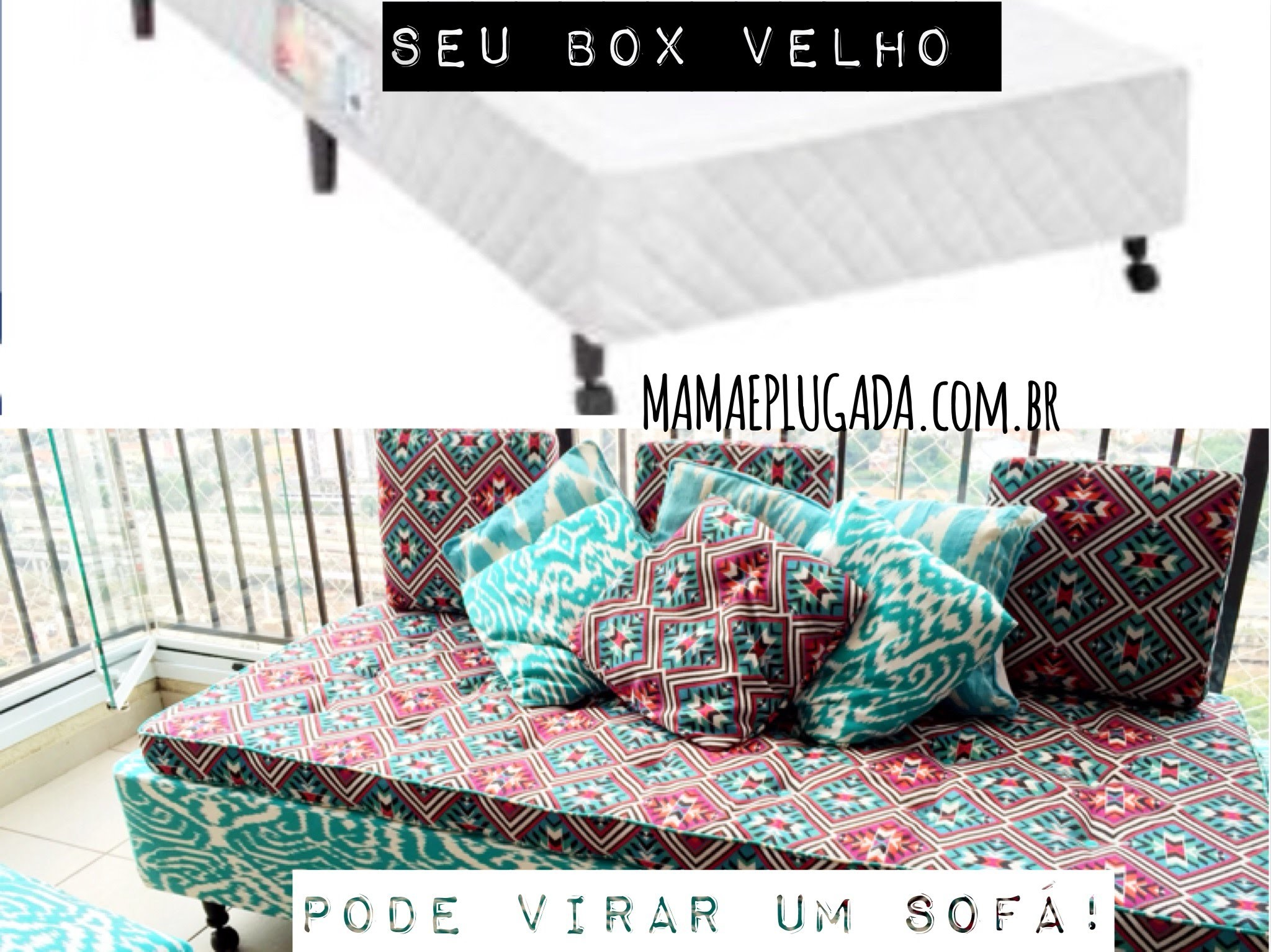 DIY Interior Design: Cama Box em Sofá Estiloso - Tutorial Bed Couch