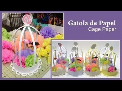 Gaiola de Papel - Cage Paper