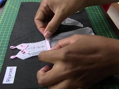 Mulher.com 23.04.2014 Jo Santana - Convite vestido em papel vegetal Parte 2.2