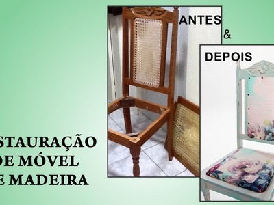 Restauração de Móvel de Madeira