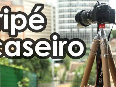 Tripé caseiro para câmera fotográfica - How to make a tripod for camera