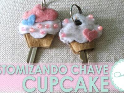 Tutorial Customize sua Chave Cupcake - wFashionista