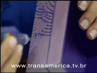 Tv Transamérica - Caixa com pintura