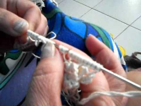 Frivolete com agulhas