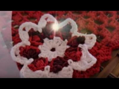 NOVA .: Flores em crochê :. artesanato, passo a passo.