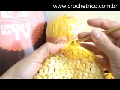 Crochê - Tapete Fast