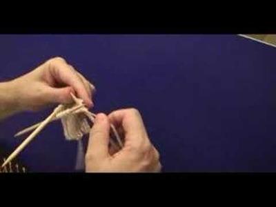 Como fazer meias de tricô - 1ª Parte