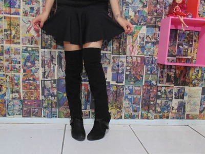 DIY - Bota Over Knee Fake