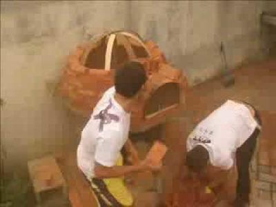 Construção de Forno a Lenha!!