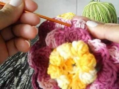 Mega flor dalia maravilha passo a passo parte2