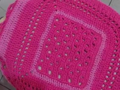 Lindo Conjunto de Banheiro de Crochê