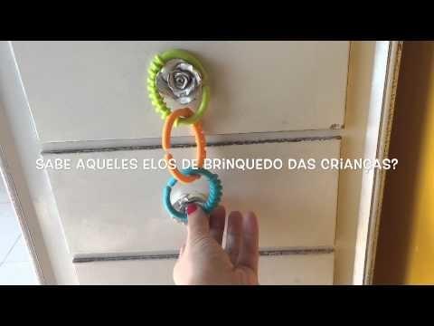 Tutorial: Proteção gavetas para bebês com brinquedo!