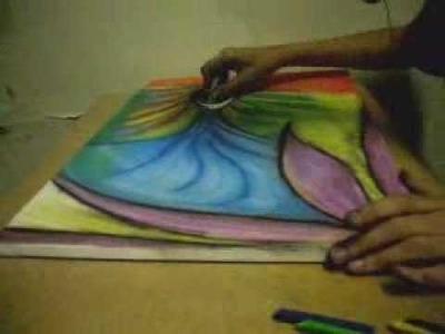#1 - Pintura com Giz Pastel -Júlio Victor - UPMI VLOG