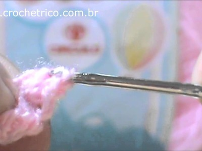 Crochê - Luvinhas Pipoca para Recém Nascidos - Parte 01.02