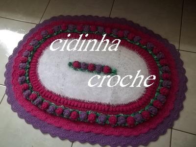 Croche- Tapete Brinco De Princesa2- Passo A Passo - Parte 1
