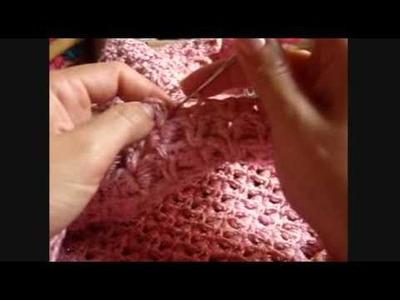 Crochê - Vestido (Ponto Escama) - 08.10