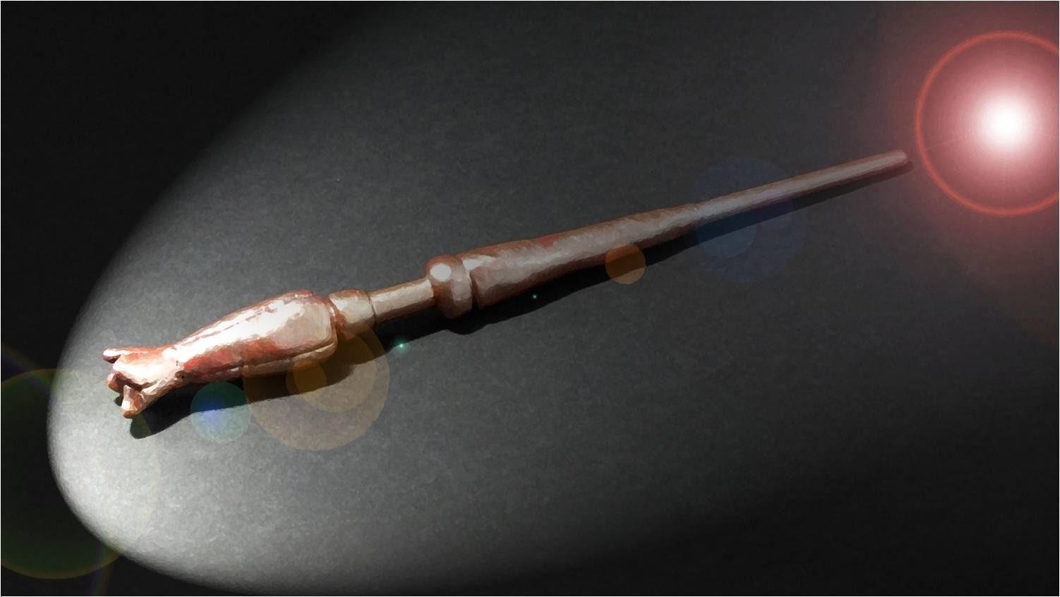 DIY: VARINHA DA LUNA (LUNA WAND) - HARRY POTTER | IDEIAS DIY!