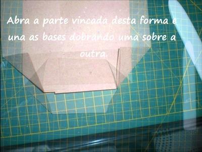 Embalagem Kraft - Origami