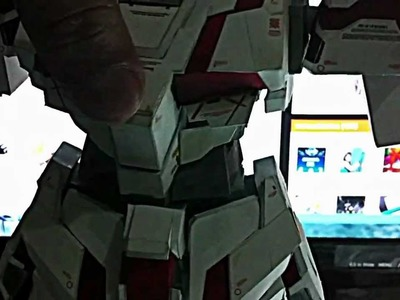 Gundam Papercraft Rx-0 Unicorn