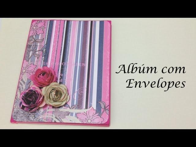 Mini Álbum de Envelopes