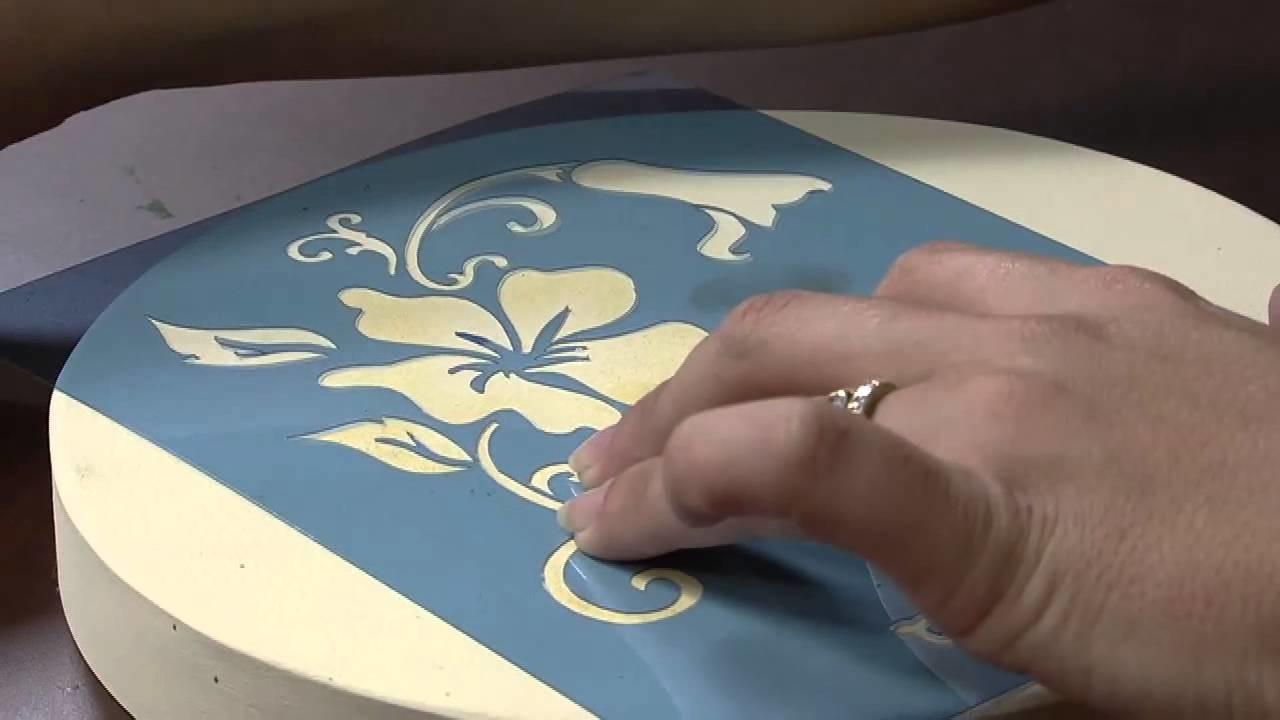 Mulher.com 30.08.2013 Marisa Magalhães - Caixa com Pintura Decorativa P 1.2