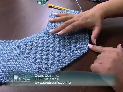 Mulher.com 31.03.2014 - Colete com fio Cisne Silver por Eliete parte 02